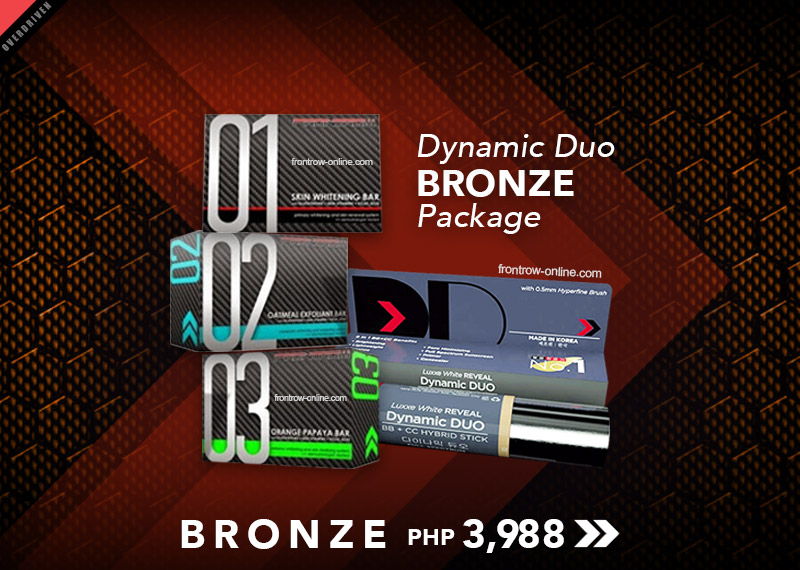 Luxxe Reveal Dynamic Duo Bronze Package