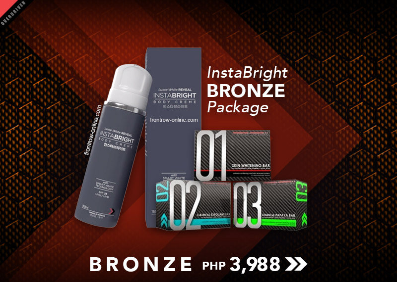 Luxxe Reveal Instabright Bronze Package