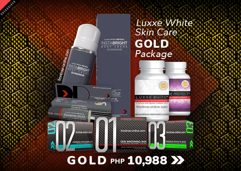 Luxxe White Skin Care Gold Package