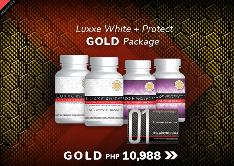 Gold 1 - Luxxe White + Protect Package