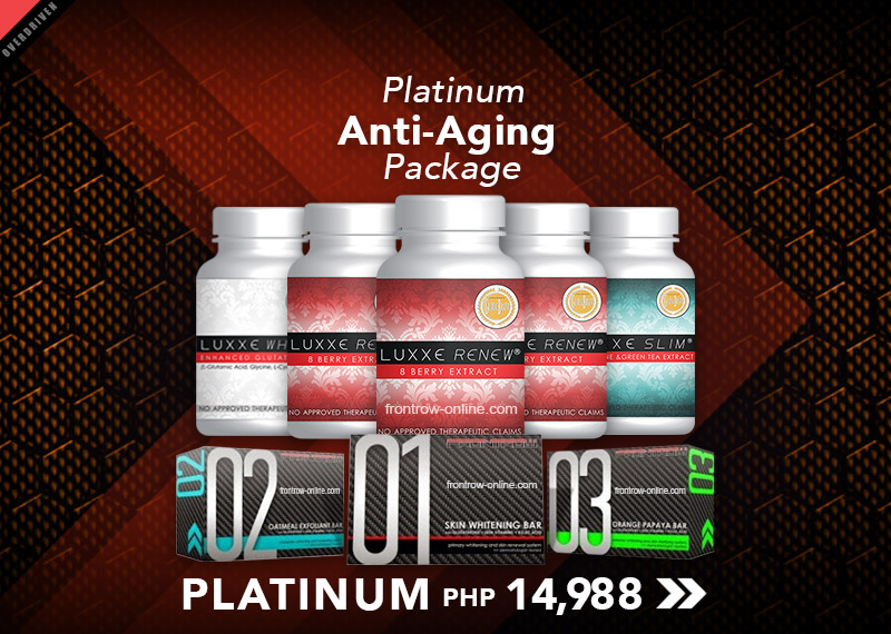 Platinum 3 - Luxxe Renew Package