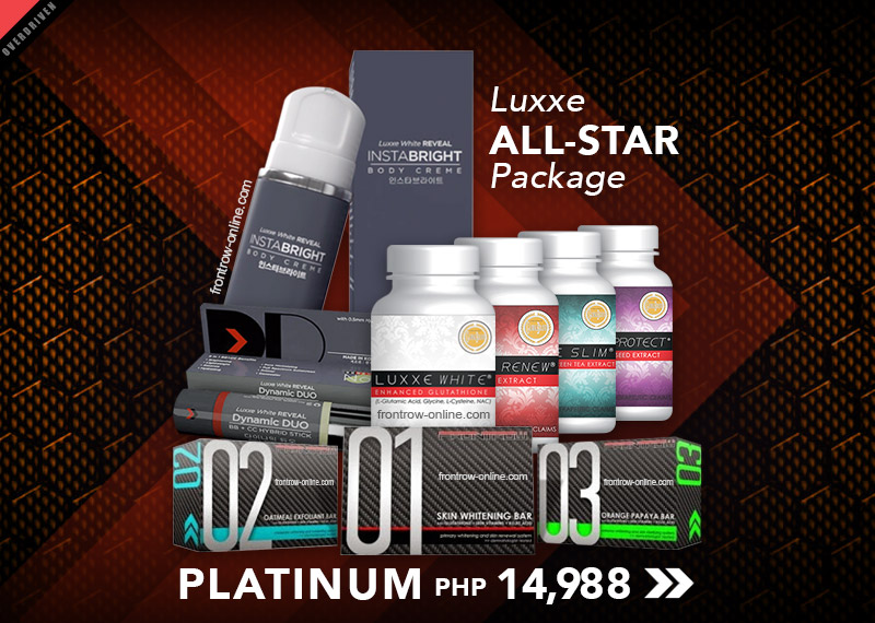 Platinum Luxxe All-star Complete Package