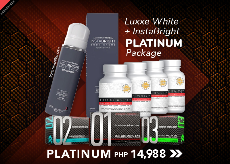 Platinum 1 - Luxxe White + InstaBright Package