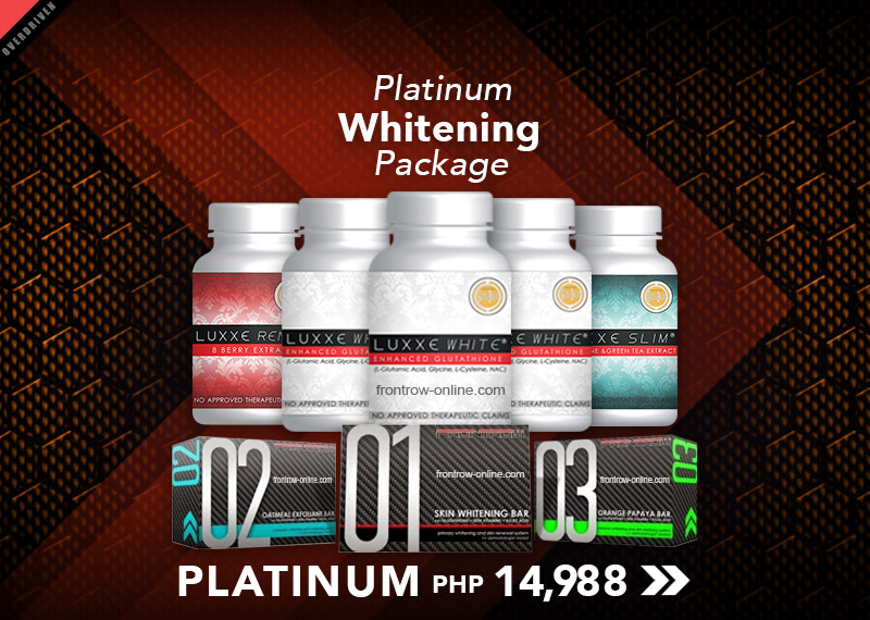 Platinum Whitening Package